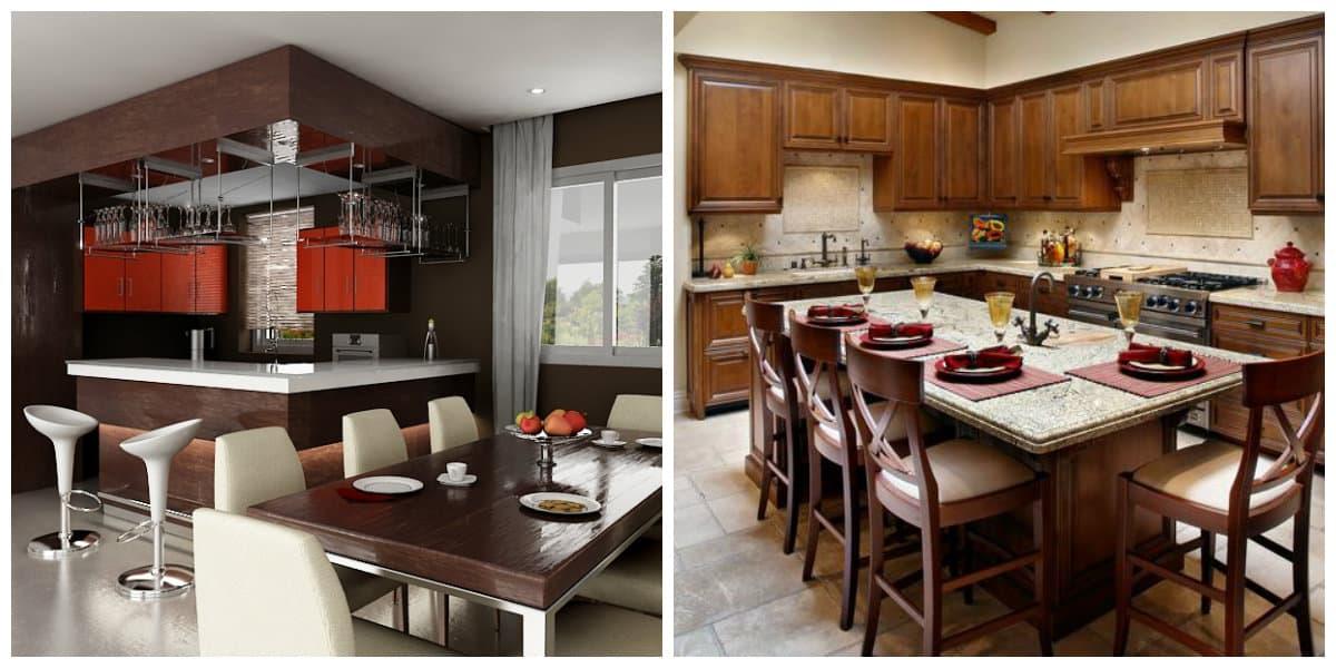 Diseños de cocinas comedor- colocacion de muebles