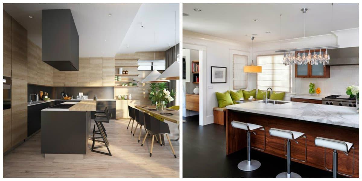 Diseños de cocinas comedor: Interiores de cocinas comedor