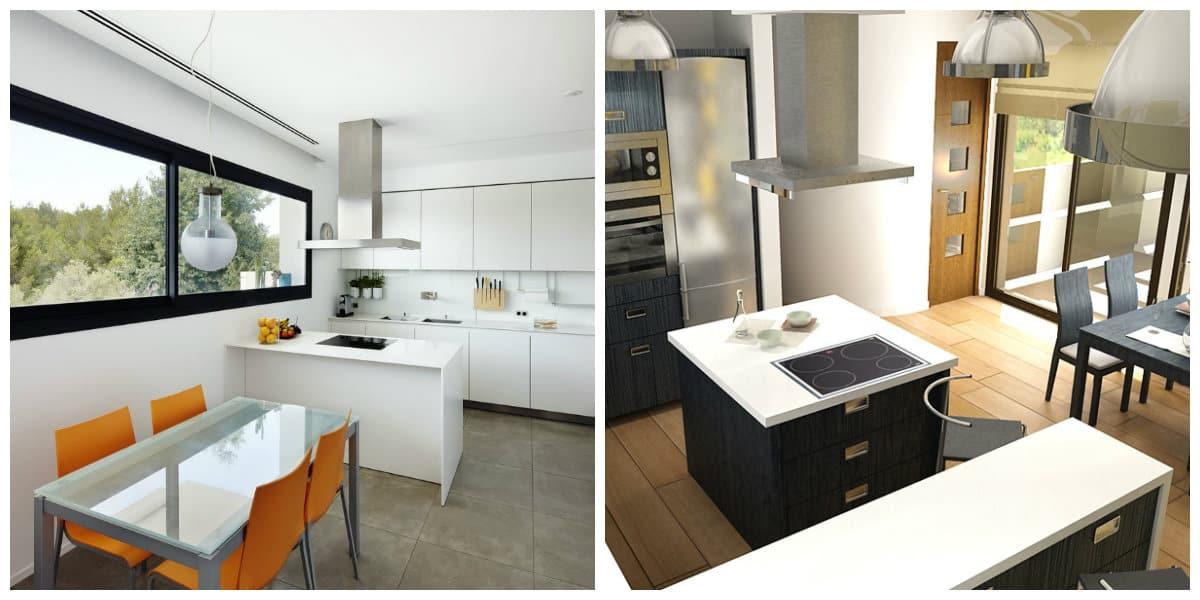Diseños de cocinas comedor- muebles indispensables