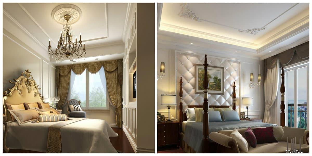 Dormitorios clásicos- colores oscuros para amantes de moda