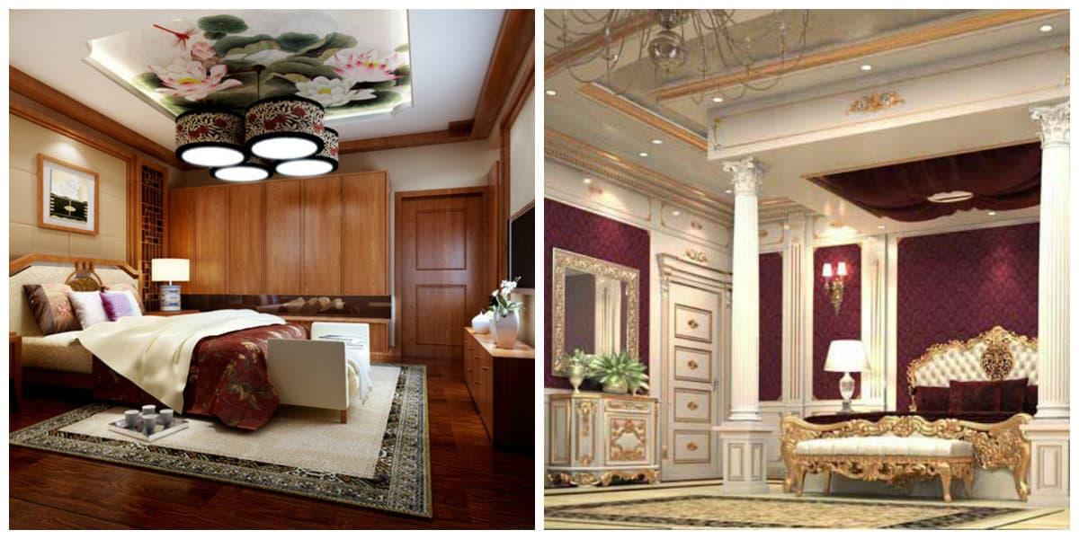 Dormitorios clásicos- elementos de estilo moderno