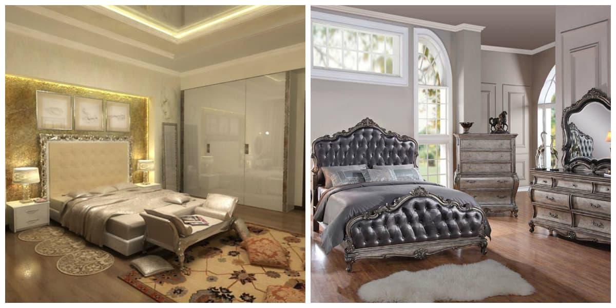 Dormitorios clásicos- cubrecamas simples monocromaticas