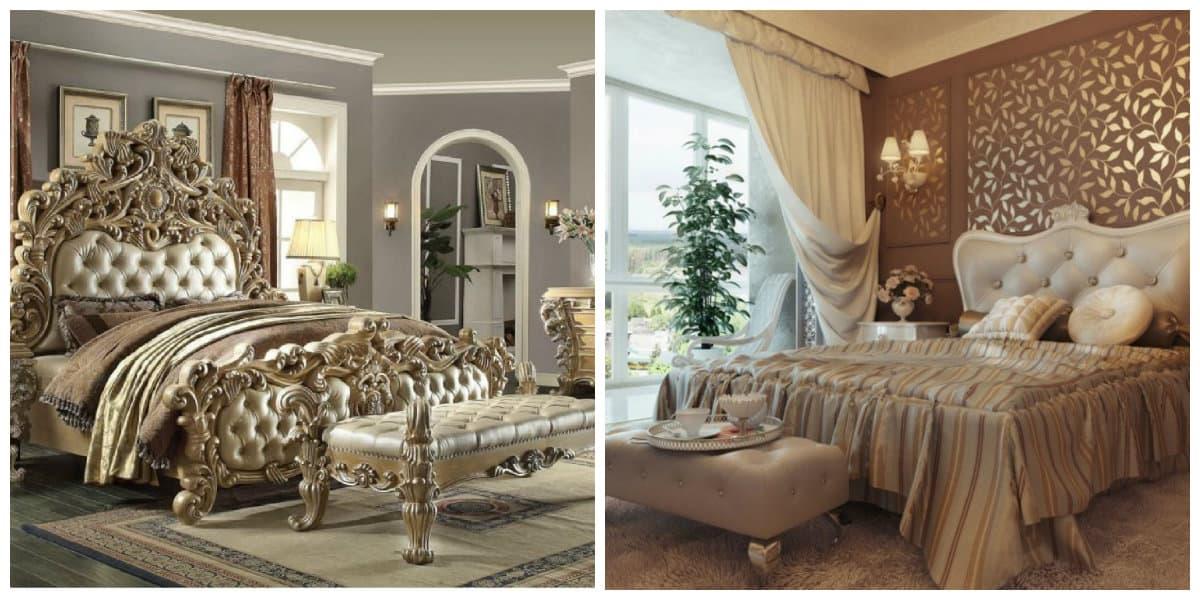 Dormitorios clásicos- diferentes elementos de decoracion