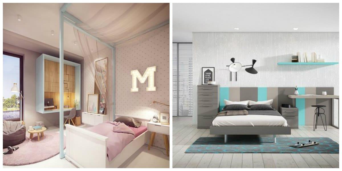 Habitaciones juveniles 2018 1 decoraci n hogar - Tendencias dormitorio 2018 ...