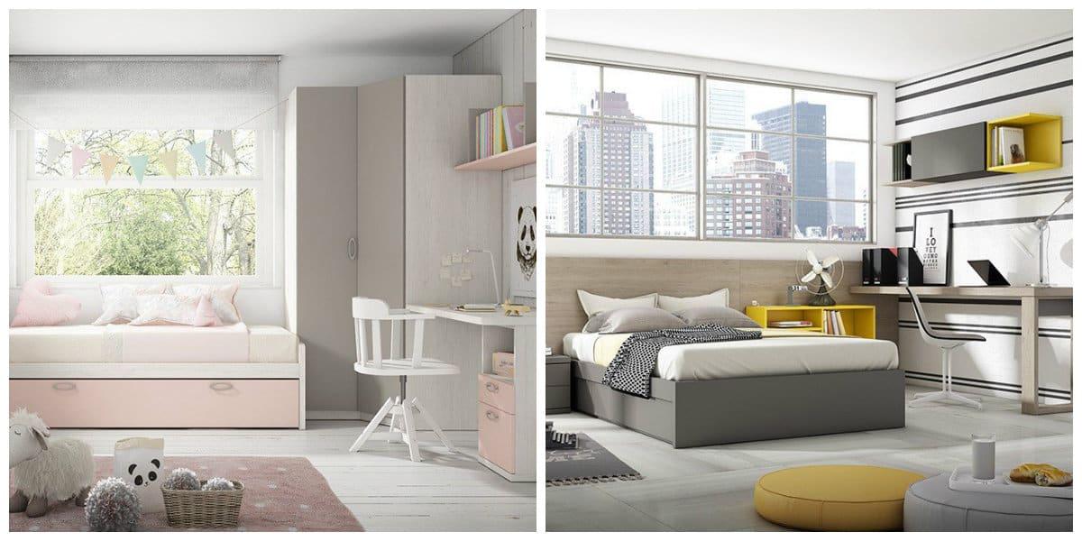 Habitaciones juveniles 2020- piso 3d con vistas bonitas