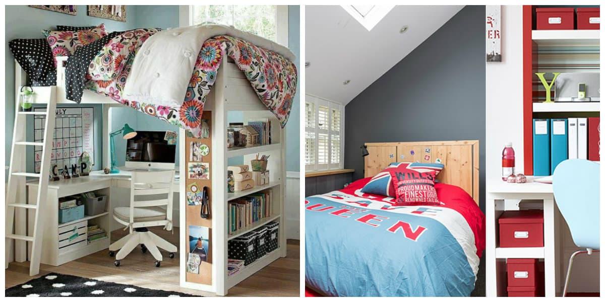 Habitaciones juveniles 2020- paredes y techo muy de moda