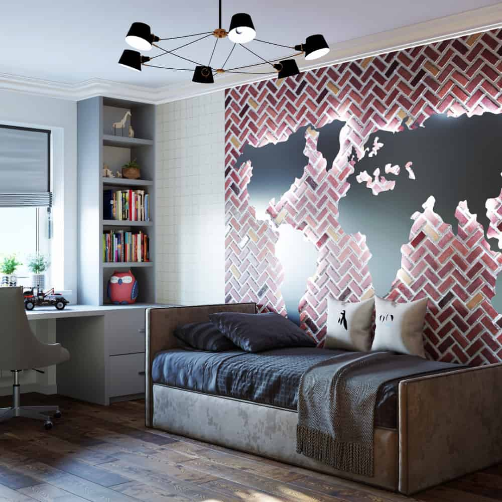 Habitaciones juveniles 2020; Diseño moderno de cuartos ...