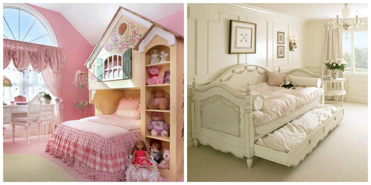Habitaciones para niñas- temas diferentes de moda