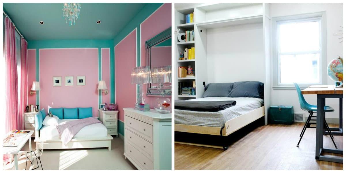 Habitaciones pequeñas- colores claros y muy de moda para su dormitorio