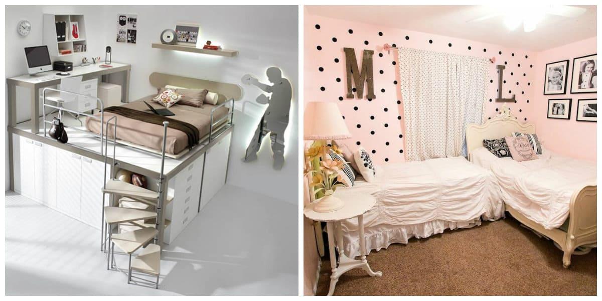 Habitaciones peque as dise o de dormitorios peque os de moda - Dormitorios para habitaciones pequenas ...