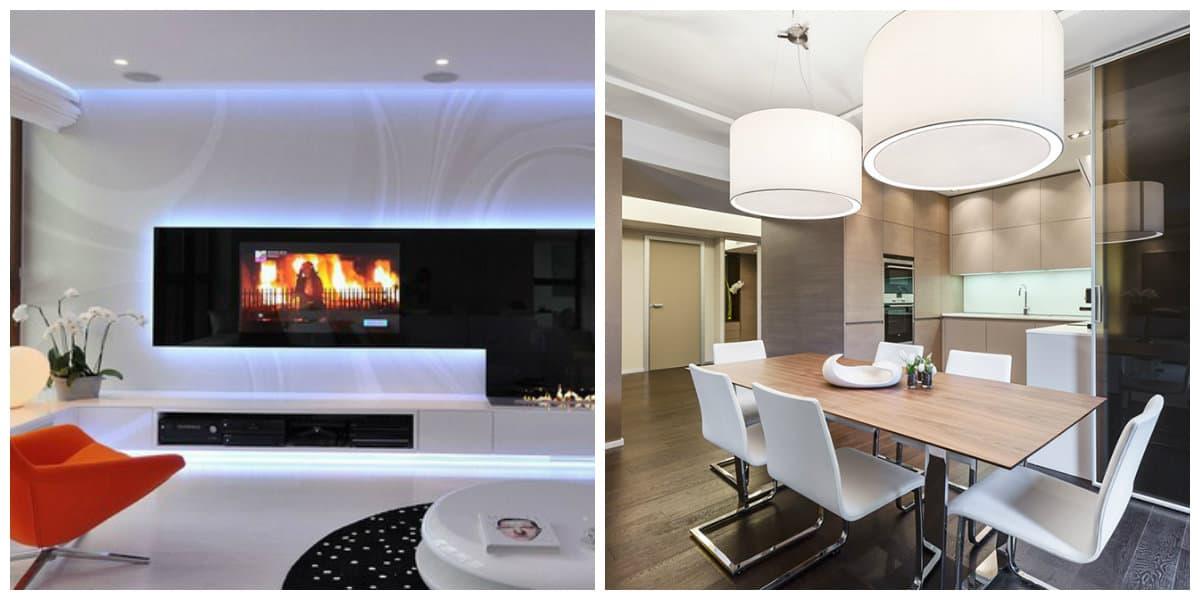 Iluminación de interiores- principales tendencias en uso