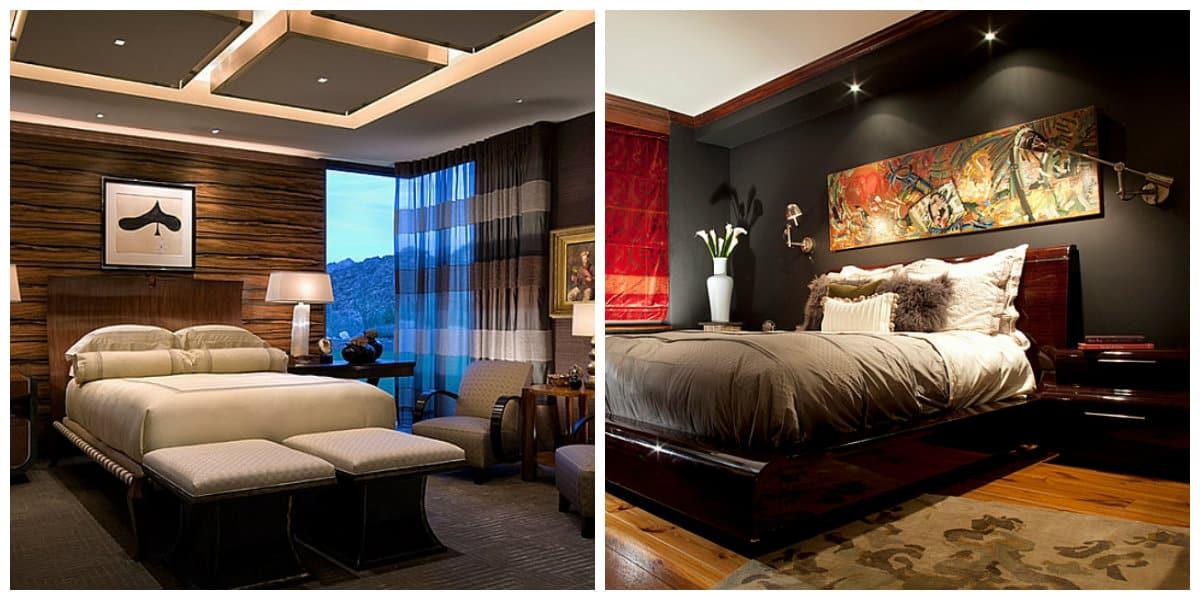 Iluminación de interiores- variantes de iluminar los dormitorios