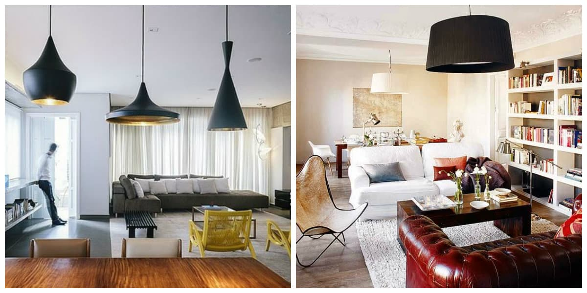 Lámpara 2020- lamparas de techo muy modernos