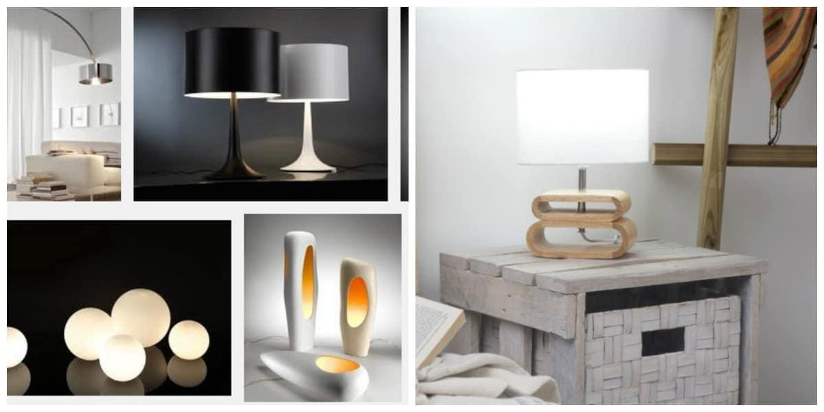 Lámpara 2020- diversidad de lamparas de mesa de moda