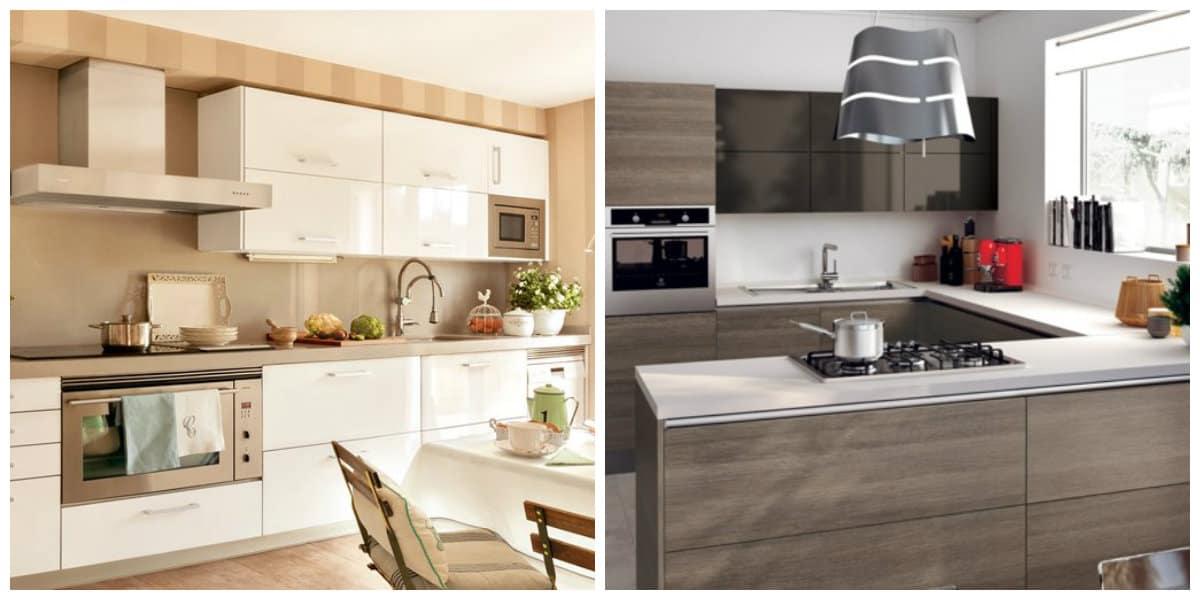 Muebles 2020- cocinas modernas con todos los muebles