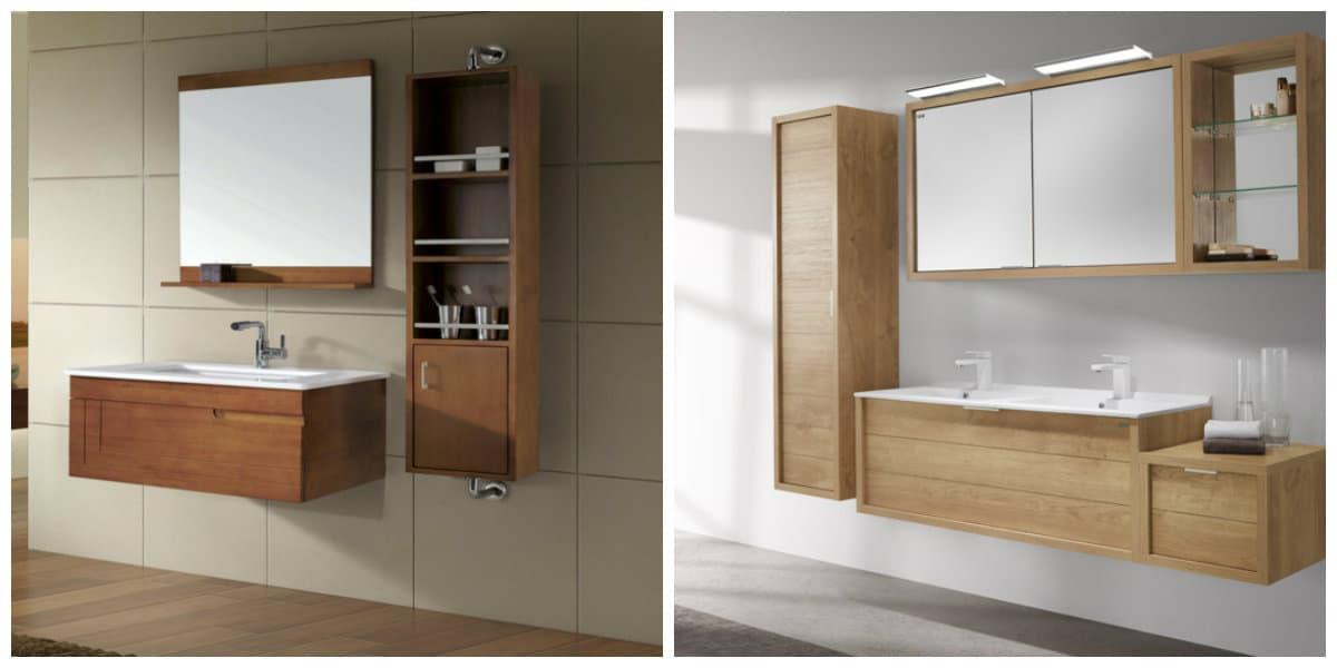 Muebles 2020- banos modernos de 2020 con decoracion de moda