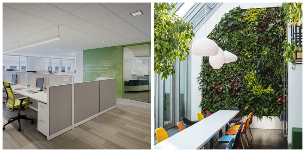 Oficina verde 9 decoraci n hogar for Decoracion hogar verde