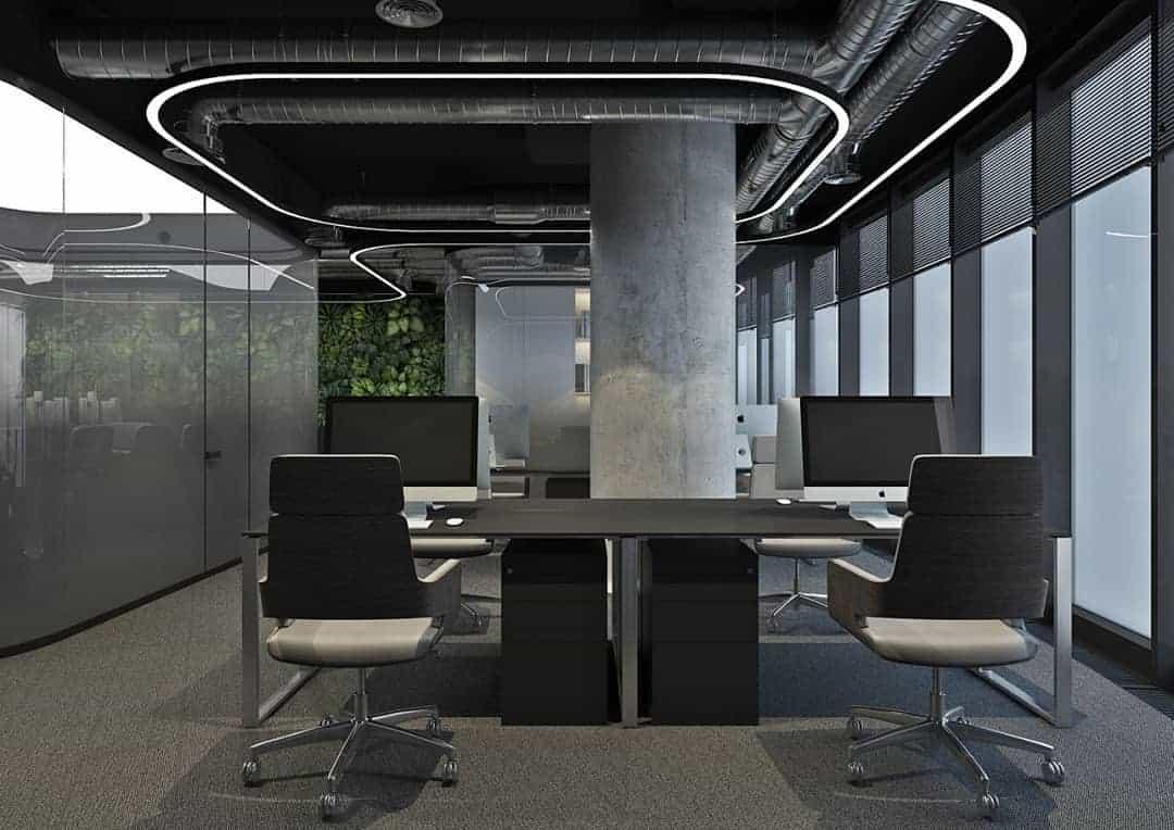 Oficinas 2021; Diseño Estético Del Interior De La Oficina