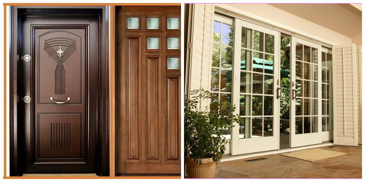 Puertas 2020- madera como material principal para las puertas