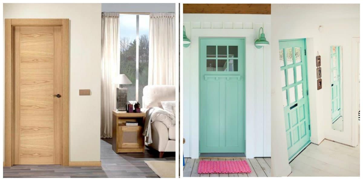 Puertas 2020- la aplicacion de gama de colores para puertas