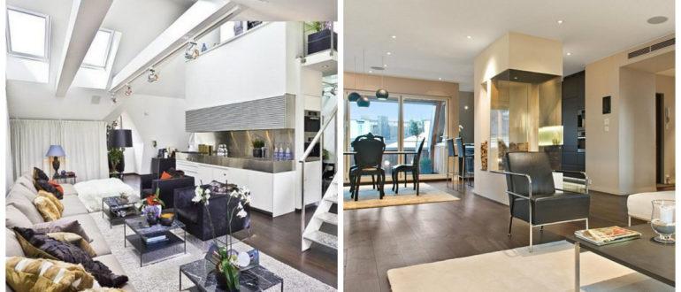 Sala de estar moderna- etilo loft esta en tendenica