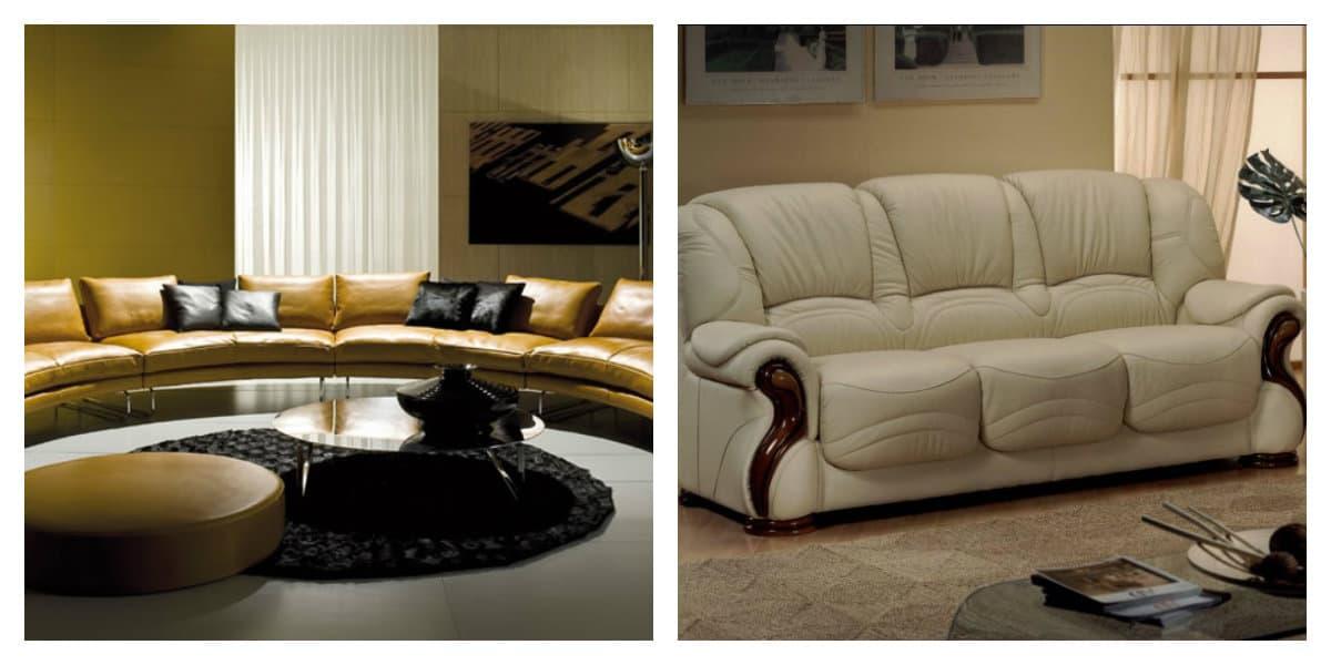 Sofás modernos 2018- estilo Barocco en sofas para el salon