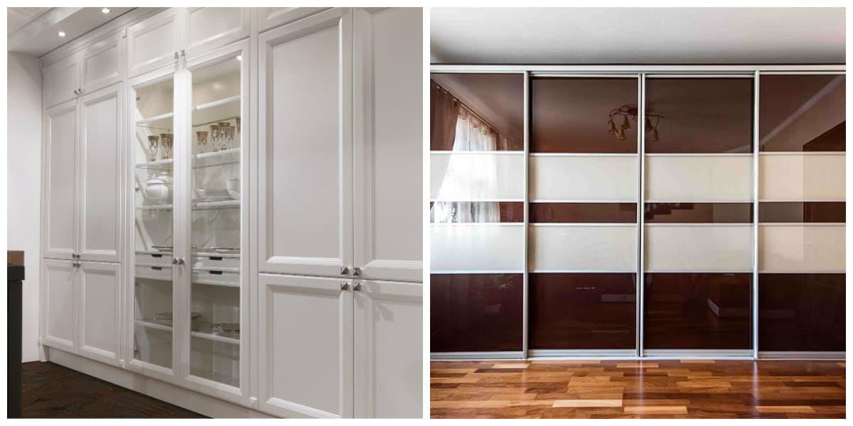 Armarios empotrados- colores claros y oscuros para diferentes habitaciones