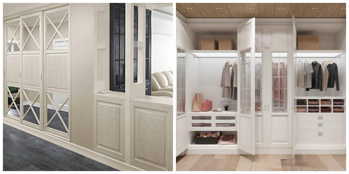 Armarios empotrados- estilo clasico para guardarropas en tu dormitorio