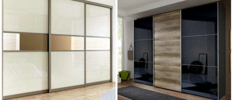 Armarios modernos- el reflejo de los otros muebles del dormitorio