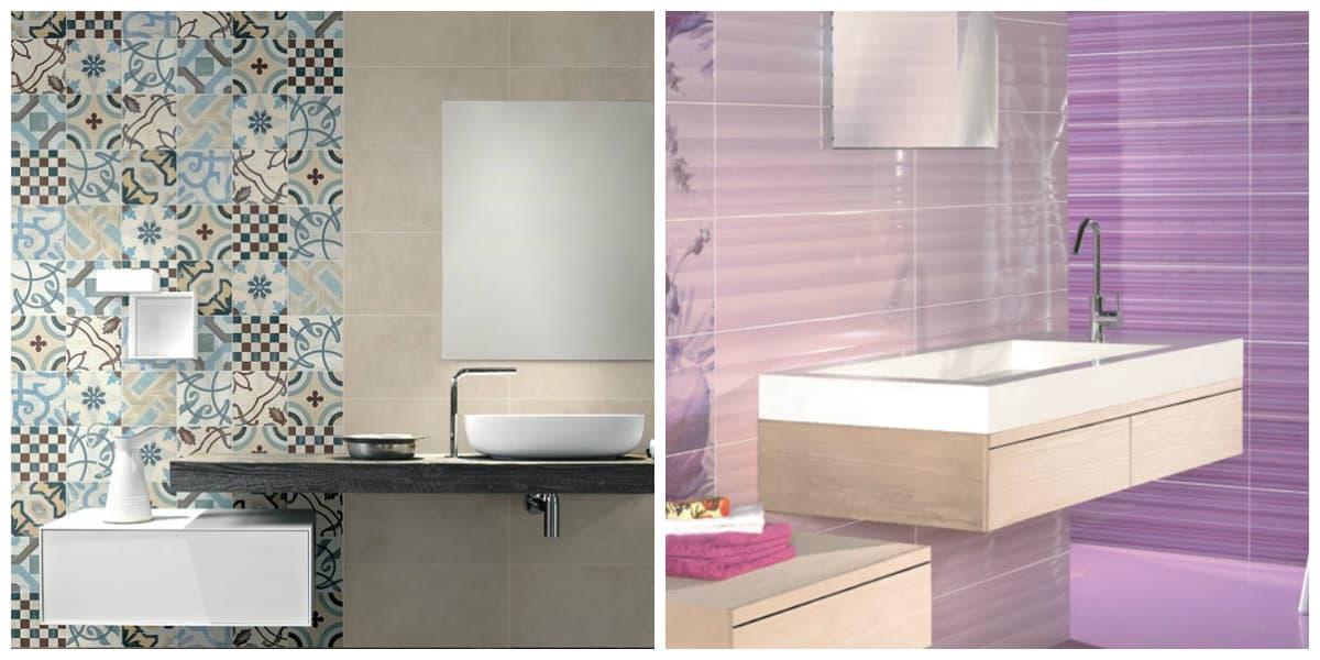 Azulejos para baños 2020- ideas creativas en cuanto a los colores