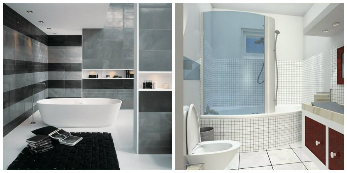 Azulejos para baños 2018- tonalidades claras