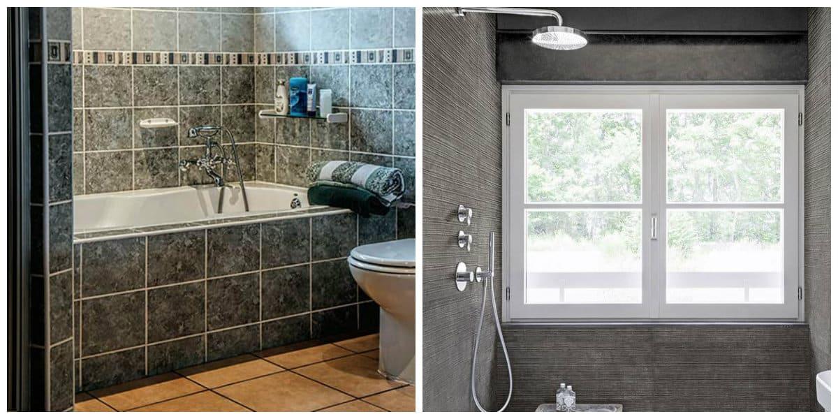 Azulejos para baños 2018- interiores y colores de moda