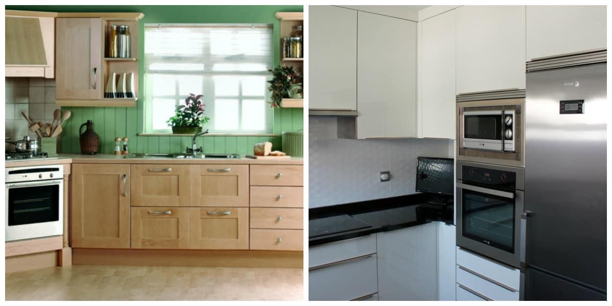 Cocina de esquina tendencias nuevas de cocinas de esquina - Accesorios de cocina de diseno ...