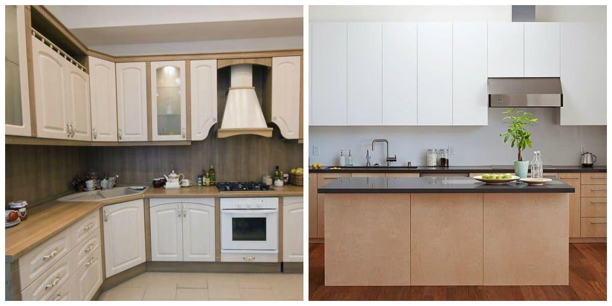 Cocina de esquina- uso de diferentes tipos de muebles en tu hogar