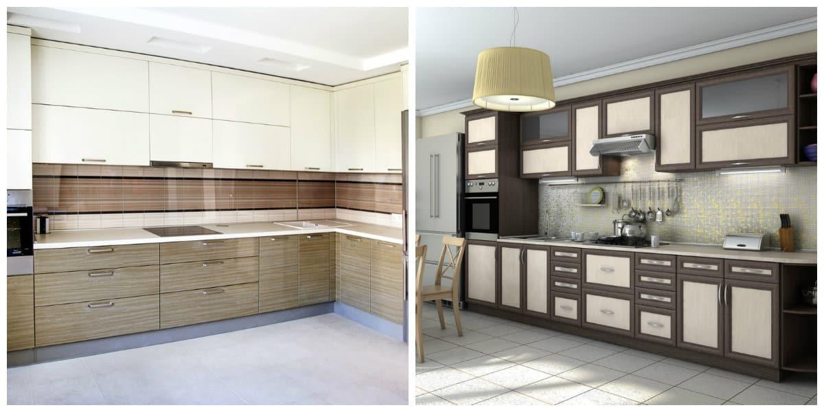 Conjunto de cocina- simplicidad en la eleccion de los muebles