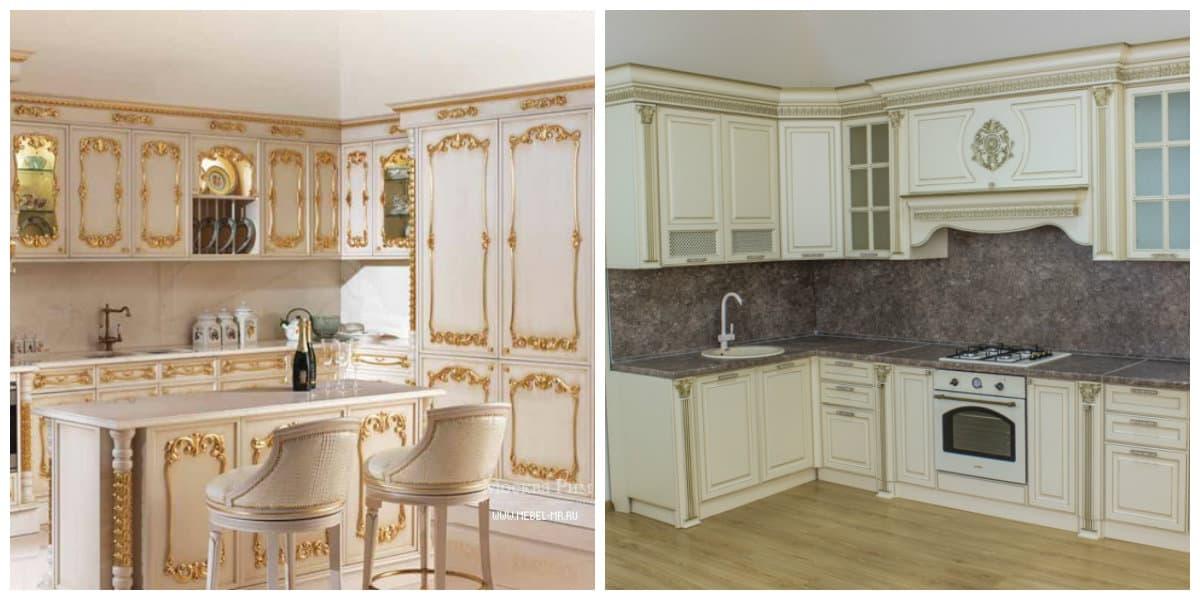 Conjunto de cocina- estilo de muebles muy elegnates y modernos