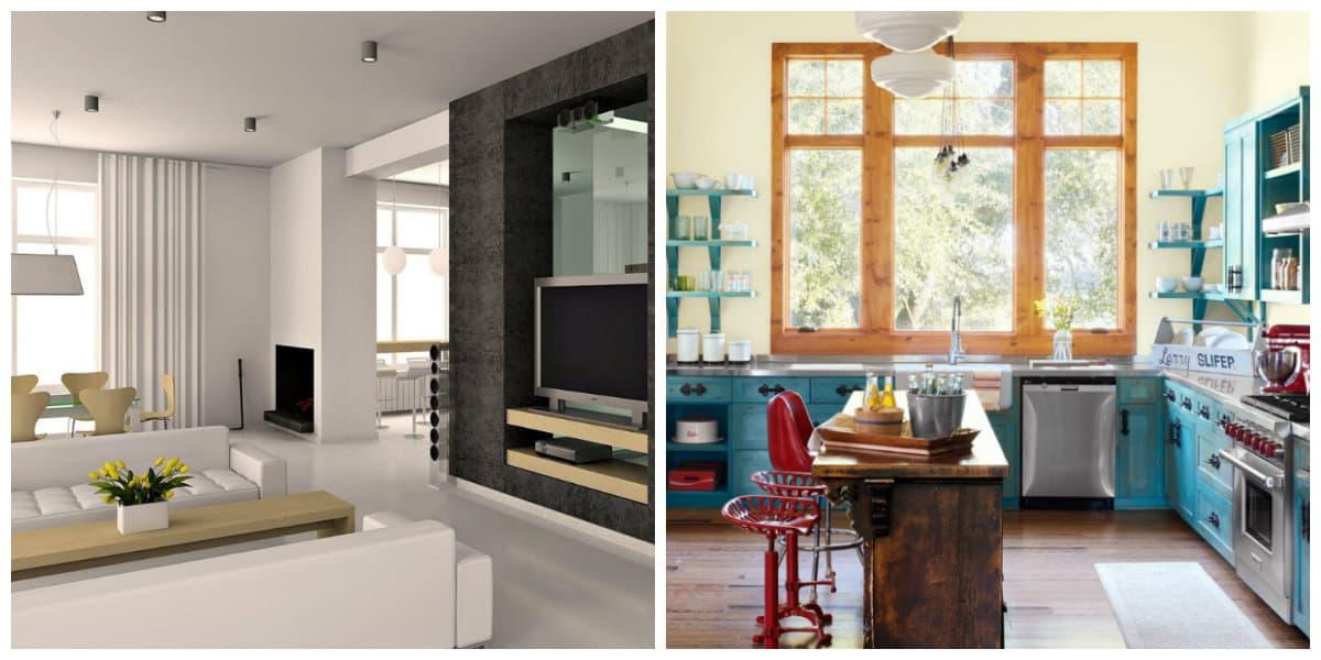 Decoración 2018- salones y cocinas al estilo hygge moderno