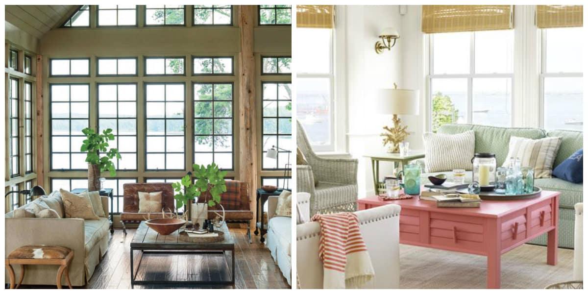 Decoración 2018- acentos de metal y madera en los interiores modernos