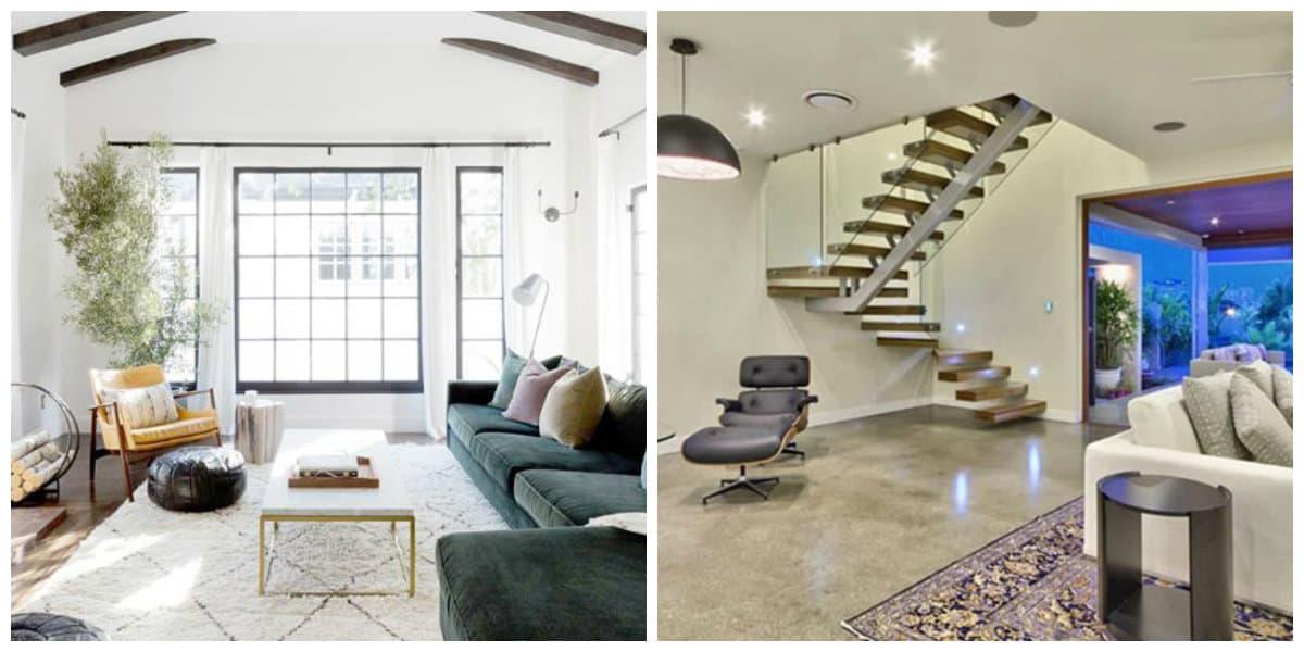 Decoración 2018- filisofia acogedora de lod interiores modernos