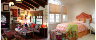 Decoración boho- alfombras de moda tipicamente para estilo boho