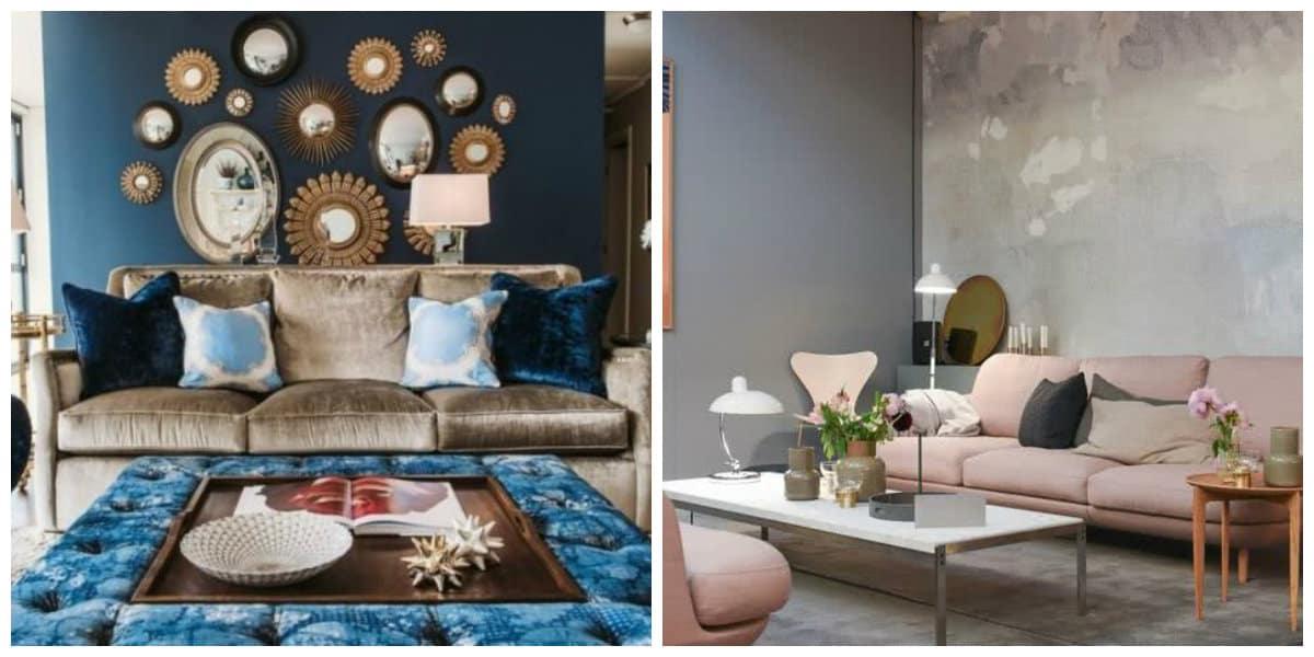 Decoración interiores 2018- muchos colores en uso