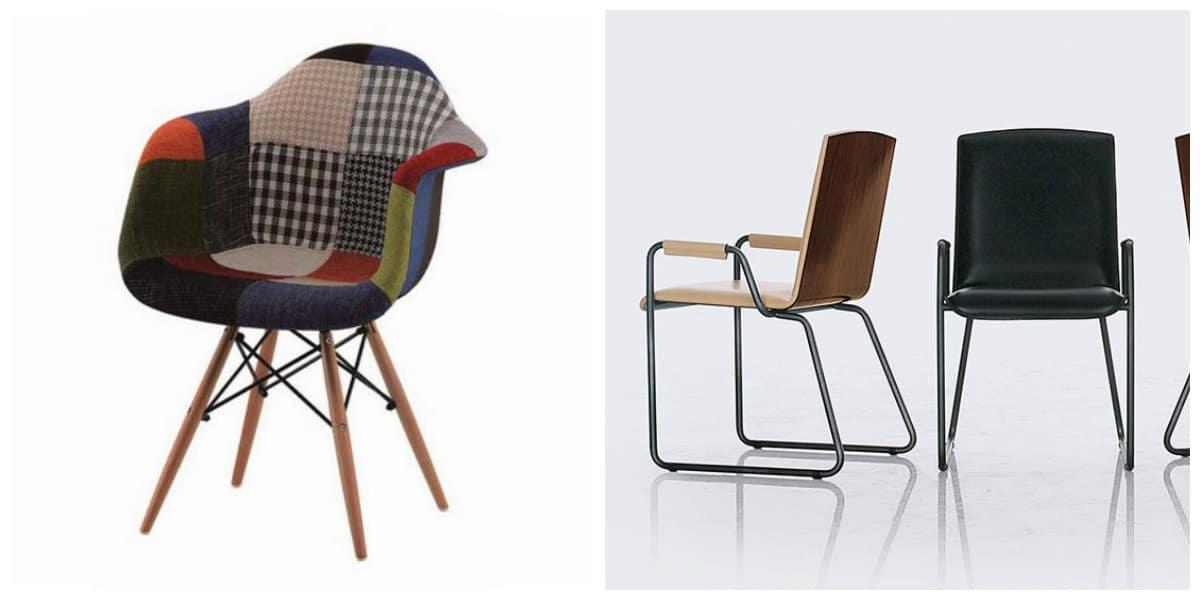 Decoración interiores 2018- sillas creativas y vestidas con en tendencia