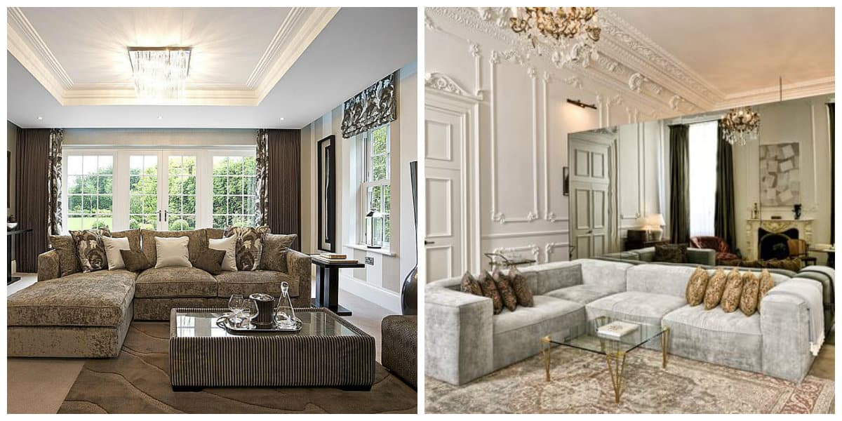 Decoración interiores 2018- diseno actual y modernos de salones