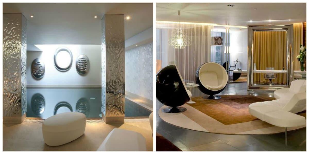 Decoración interiores 2018- uso de colores metalicos en tu hogar