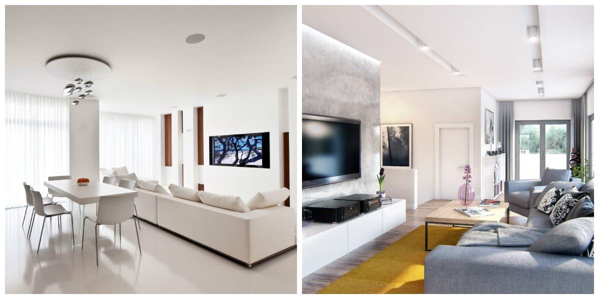 Diseño de deapartamentos - color blancoo como tendencia principal