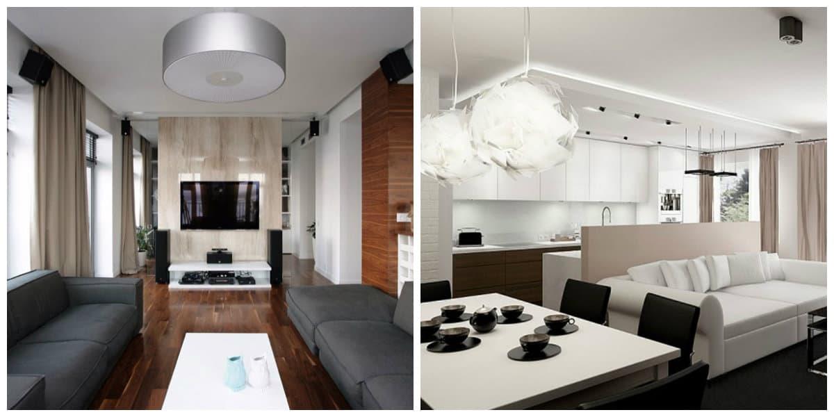 Decoracion de apartamentos- iluminacion con lamparas modernas