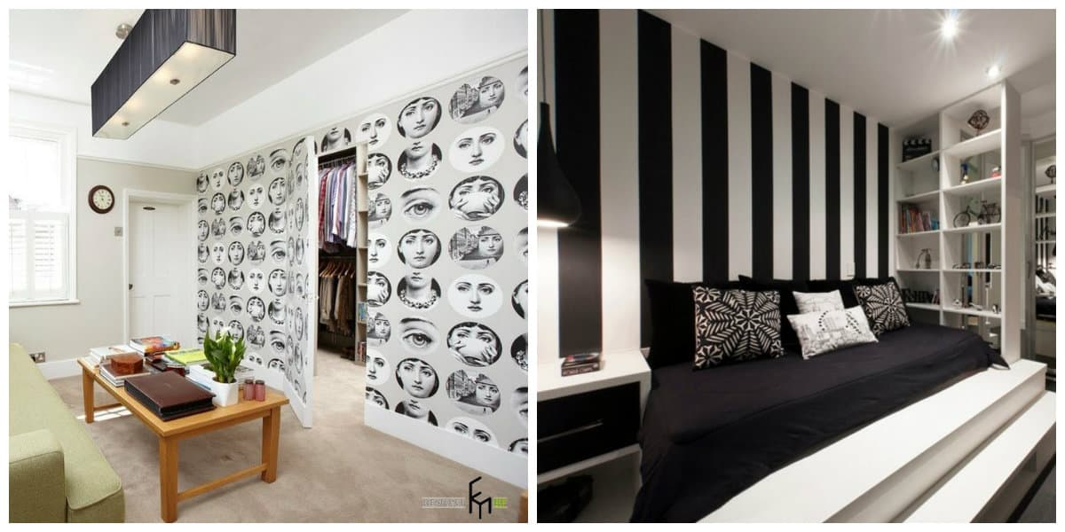 Diseñar fondos de pantalla- blanco y negro en texturas creativas