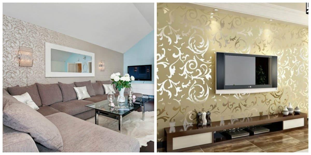 Diseñar fondos de pantalla- texturas creativas para tu salon moderno