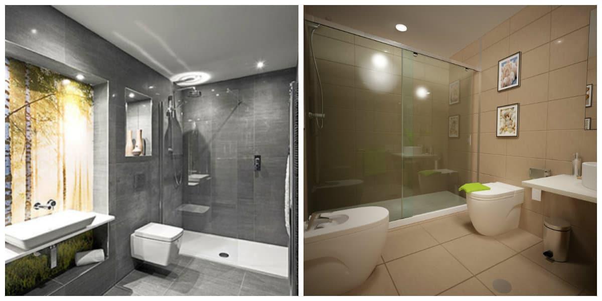 Diseño de baños pequeños- tendencias principales en uso