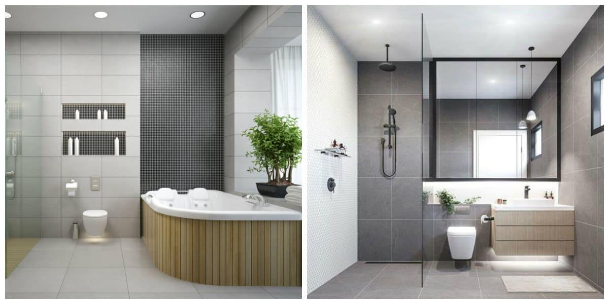 Diseño de baños pequeños- decoracion perfecta de los banos modernos